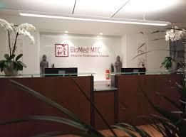 Réception Biomed mtc genève